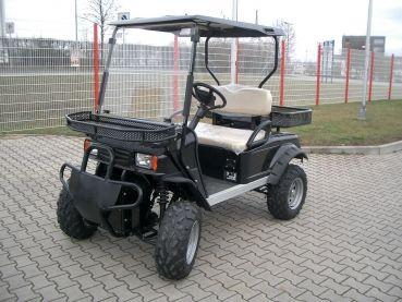 Beckers Golf Cart Handel -   - Ligier - Yamaha - WSM Mitsubishi - E-Z-GO - Club Car - WSM Mitsubishi RTX400 NEUFAHRZEUG Elektrofahrzeug / Elektrotransporter
