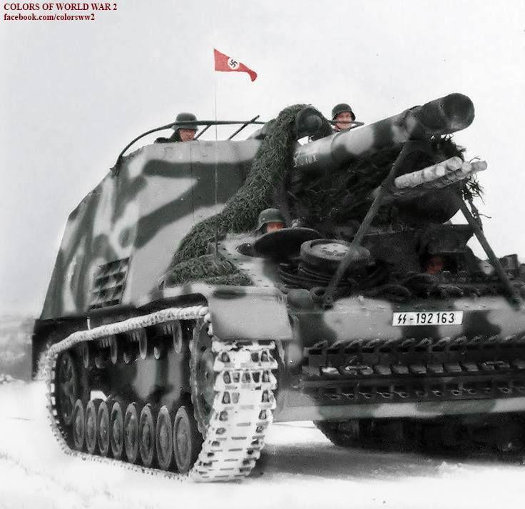 """Hummel """" 9`th Waffen SS Panzer Division """" Hohenstaufen """""""