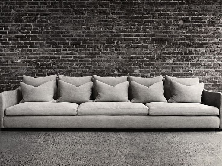 Montauk Sofa I lust over this sofa. Love the skinny arms