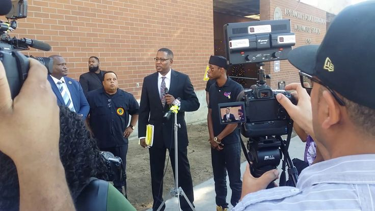 Bro. Polight Los Angeles Police department Press Conference