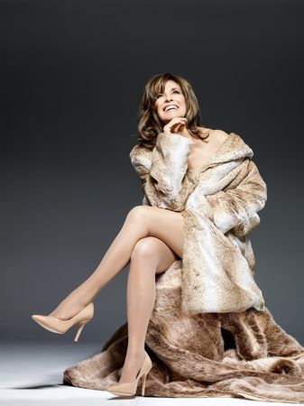 Linda Gray Most Beautiful Legs in People magazine 2013, 72 years old when this pic taken.