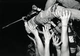No fear! Kurt Cobain crowd surfing while playing guitar... and this is not uber-famous Nirvana, this is broke mo-fo's I-just-wanna-play Nirvana. Fans may have only numbered in the hundreds, but they were passionate and tight knit. #music #grunge #photography: Charles Peterson, Sons, Crowdsurf, Hands Fans, Music Pictures, Guitar, Kurtcobain, Crowd Surfing, Kurt Cobain