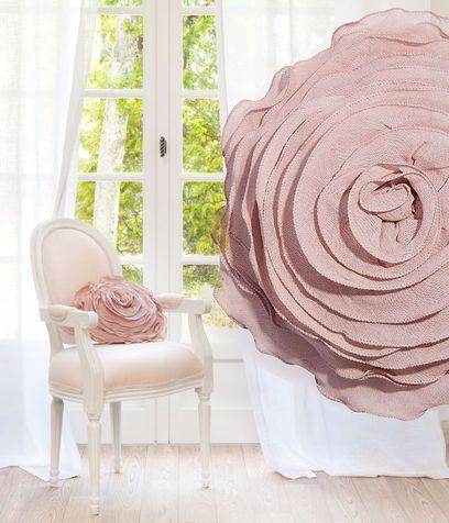 Cuscino a forma di rosa
