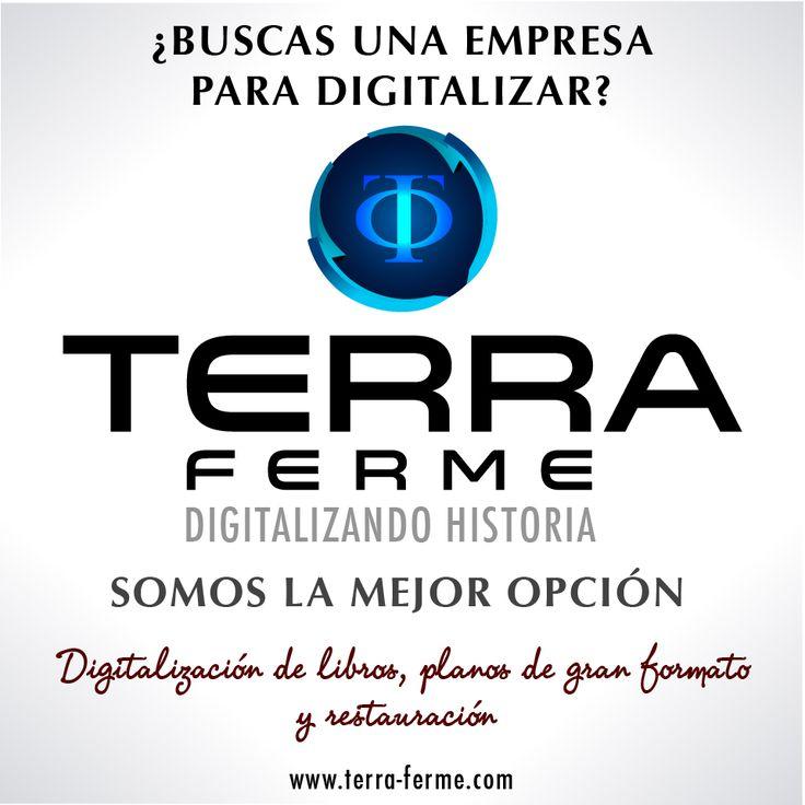 [ Somos Terra Ferme ] Una empresa de servicios especiales, para las necesidades de su empresa. Contactenos y solicite la información necesaria. www.terra-ferme.com Yo soy #TerraFerme