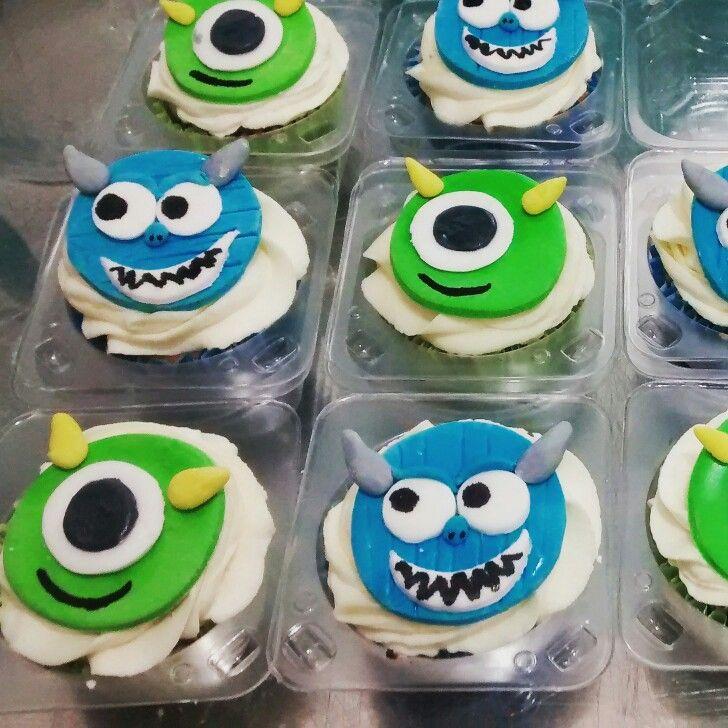 Cupcakes monster inc monster university