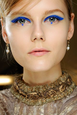 Anna Sui, w/f 2012, makeup by Pat McGrath.
