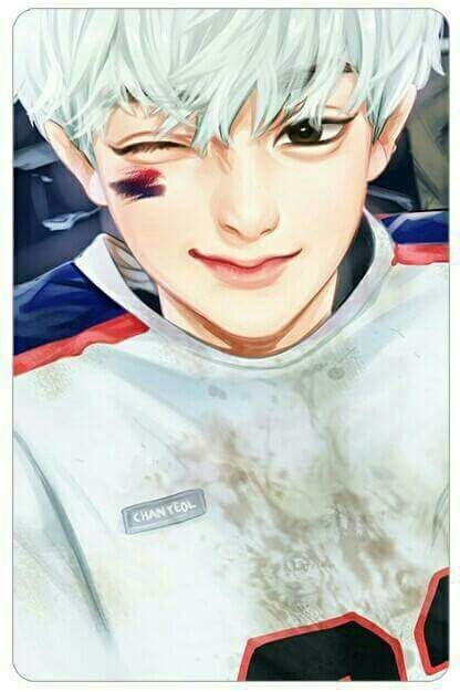 Immagine di exo, chanyeol, and fanart