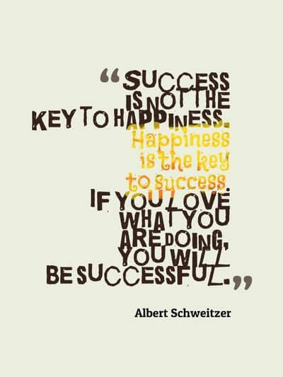 essay on happiness is the key to success Shawn achor who had dedicated his life to studying this relationship shares his  advice learn about how achor thinks that happiness is the key to success, and.