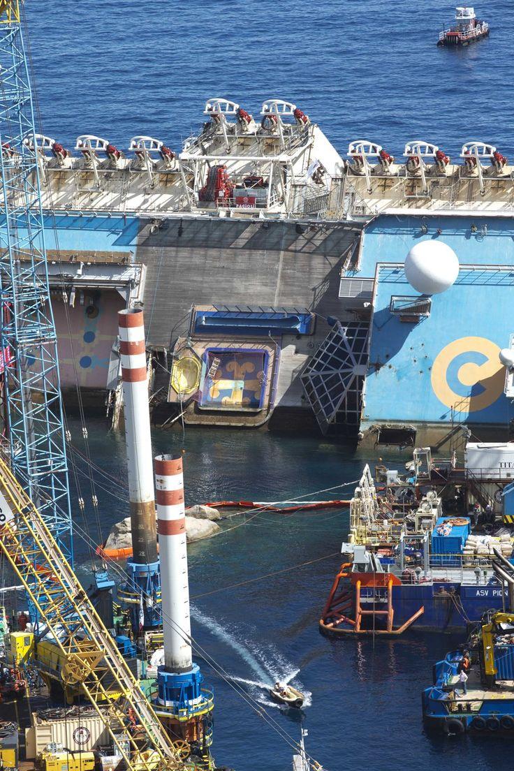 Costa Concordia Salvage Interior 45496 | ENEWS