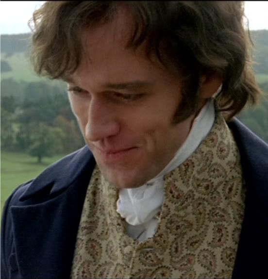 "Mr. Darcy in ""Lost in Austen"" (Elliot Cowan)... he was actually my favorite Darcy so far =)"
