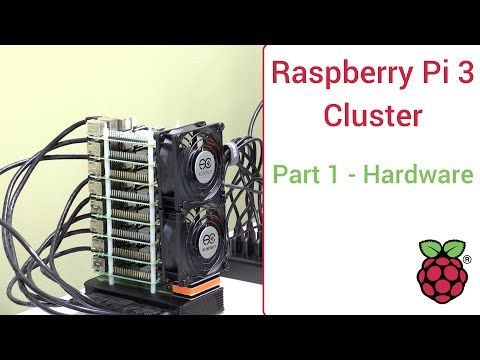 Raspberry Pi 3 Super Computing Cluster Part 1 - Hardware List and Assembly…