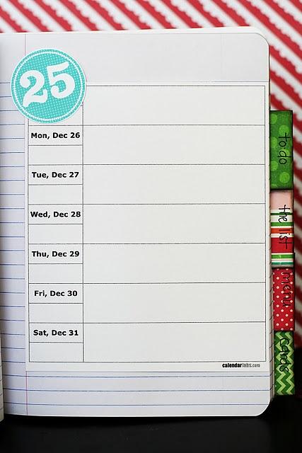 December daily printables