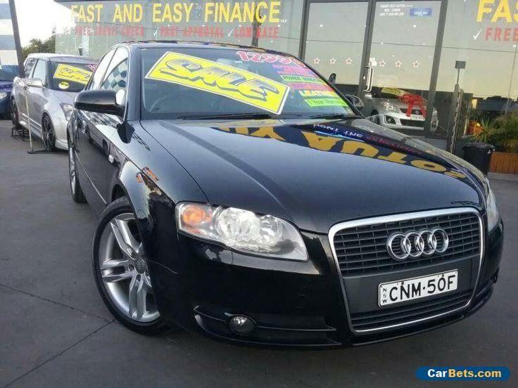 2007 Audi A4 B7 2.0 Black Automatic A Sedan #audi #a4 #forsale #australia