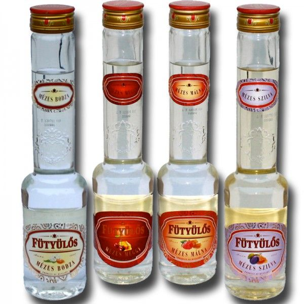 Fütyülös mit Honig, 6 Flaschen ihrer Wahl