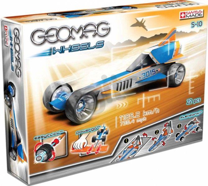 Klocki konstrukcyjne Geomag - Wheels 22 elementy