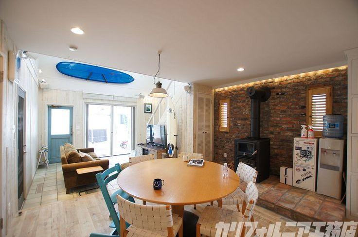 SURFER'S HOUSE in 鵠沼海岸   カリフォルニア工務店