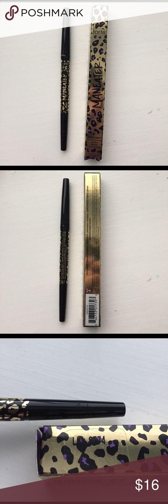 Tarte man eater eyeliner Maneater eyeliner! Brand new with box! 100% authentic! tarte Makeup Eyeliner