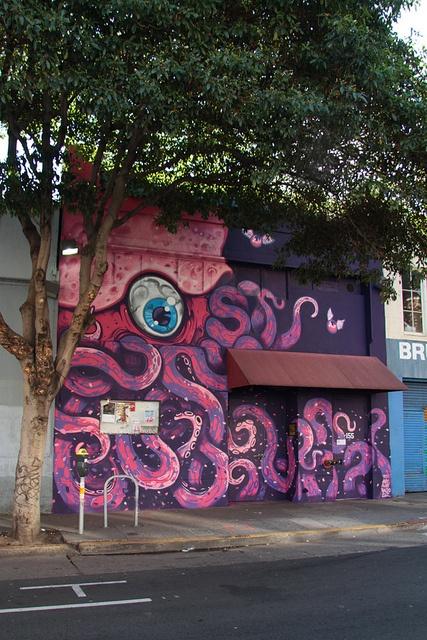 Mural Rickshaw Stop - San Francisco by Aleix Gordo Hostau, via Flickr