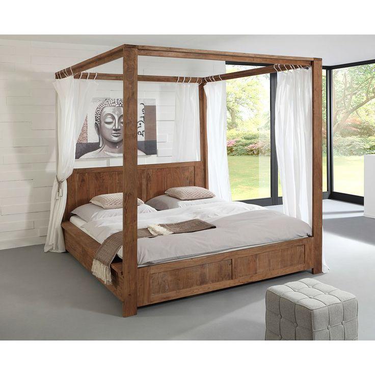 17 besten Betten \/ beds Bilder auf Pinterest Betten, Eiche und Ideen - schlafzimmer eiche massiv