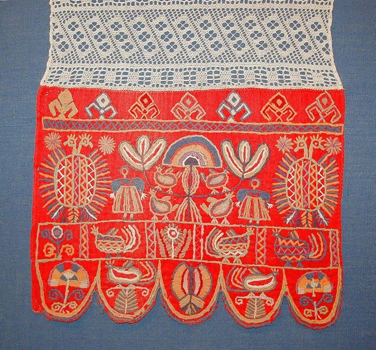 Украинские полотенца с вышивкой