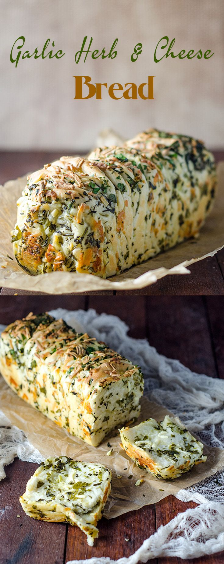 Garlic Herb And Cheese Bread                                                                                                                                                                                 More