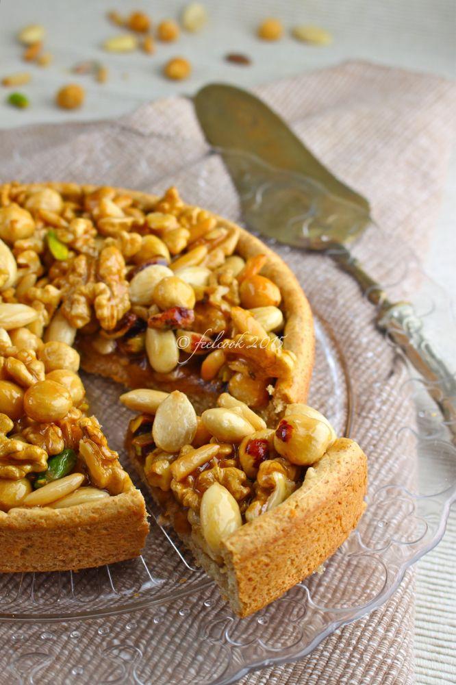 FeelCook cucina per passione: Crostata di frutta secca
