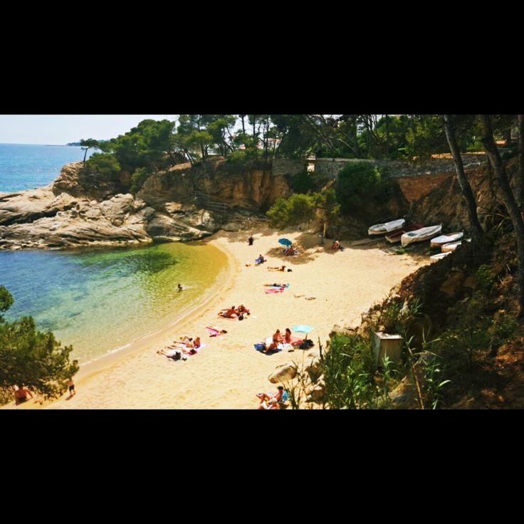 Cala Sa Cova (platja d'aro) #cala #sacova #calasacova #platjadaro #camideronda