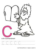 abc bible coloring pages - photo#23