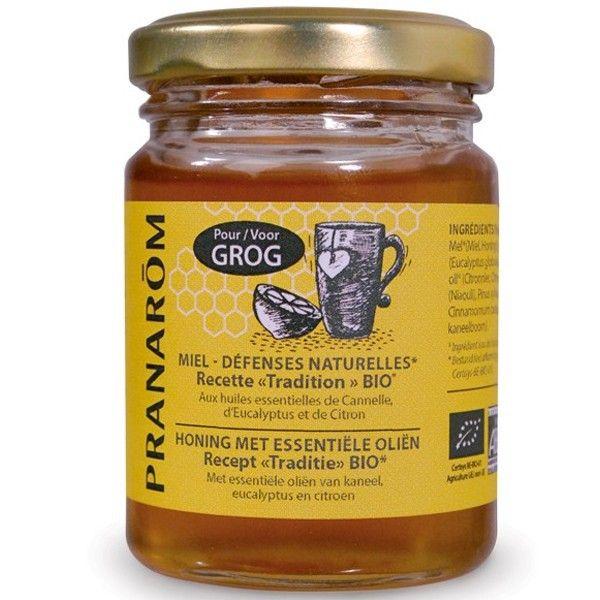 Miel - défenses naturelles aux huiles essentielles biologiques