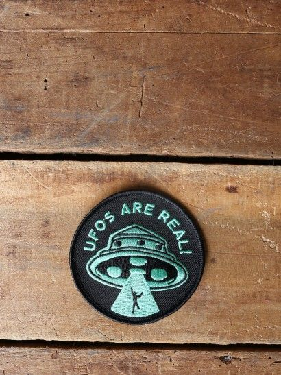 UFOs Are Real Patch - Gypsy Warrior