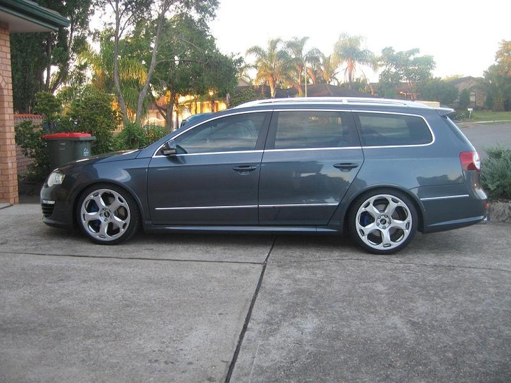 Vw R36 passat wagon with gallardo rims. Prefer CW