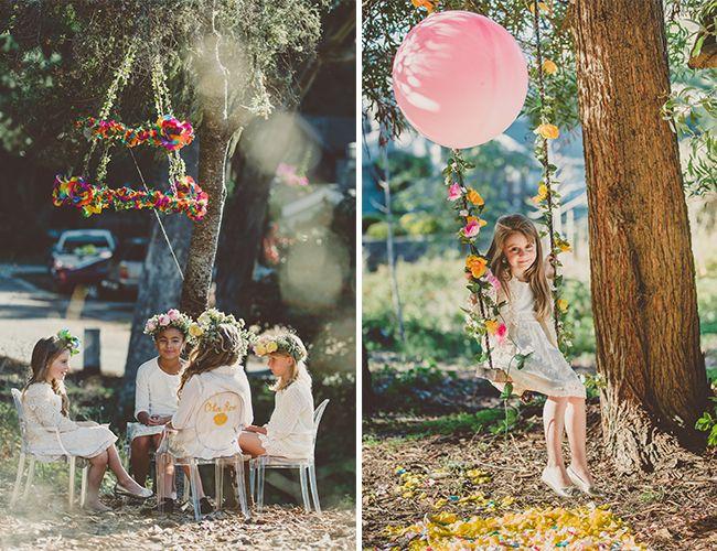 such a cute birthday party idea! #flowerchild