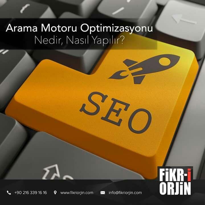Arama Motoru Optimizasyonu Nedir, Nasıl Yapılır? http://blog.fikriorjin.com/2016/06/arama-motoru-optimizasyonu-nedir-nasil-yapilir/ #digital #graphic #visual #art #web #webdesign #design #social #creative #marketing #work #office #fikriorjin #blog