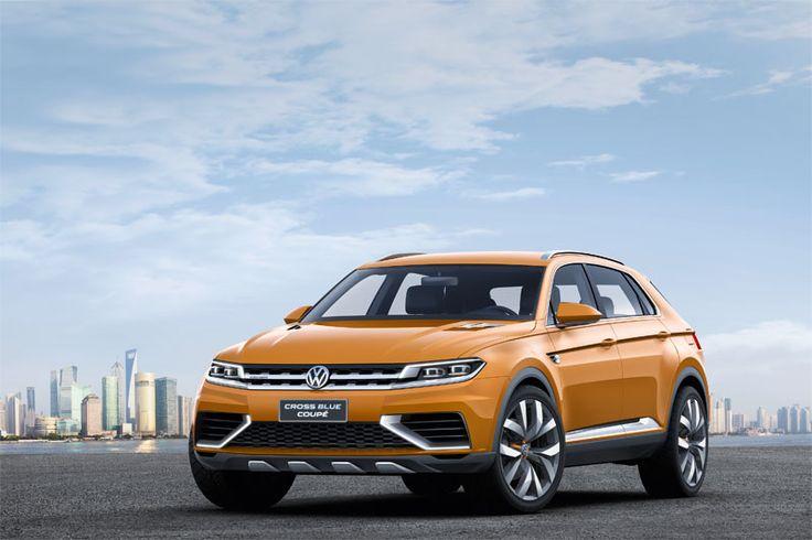 CrossBlue Coupé de Volkswagen. El prototipo de alta tecnología avanza el diseño futuro de los SUV