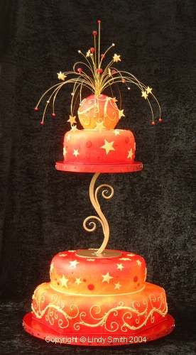 Firework Cake: Fireworks Cakes, Fireworks Crafts, Colors Design, Awesome Cakes, Wedding Cakes, Wedding Fireworks, Cakes Design, Disney Cakes, Fireworks Nails