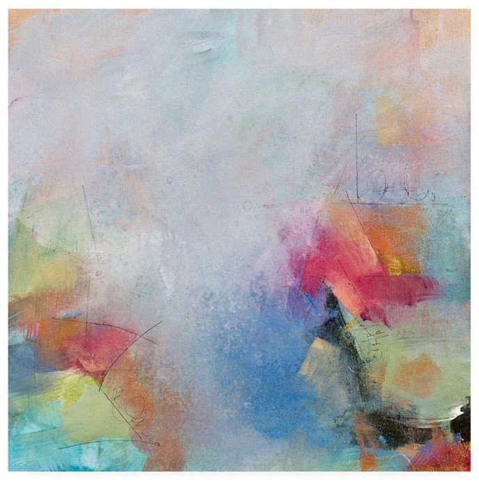 Happy Abstract Canvas Art