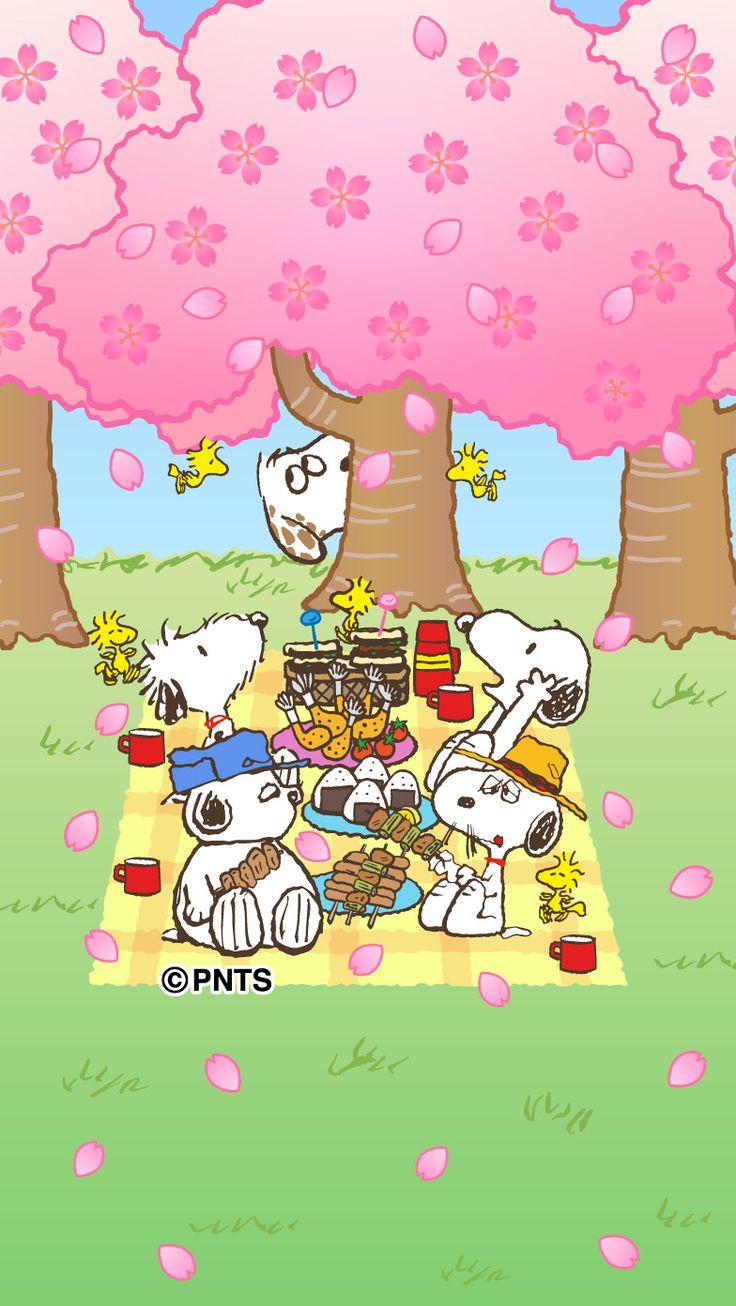 Snoopy Spring Wallpaper