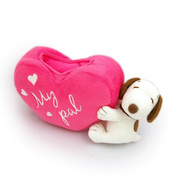 Snoopy heart cellphone stand