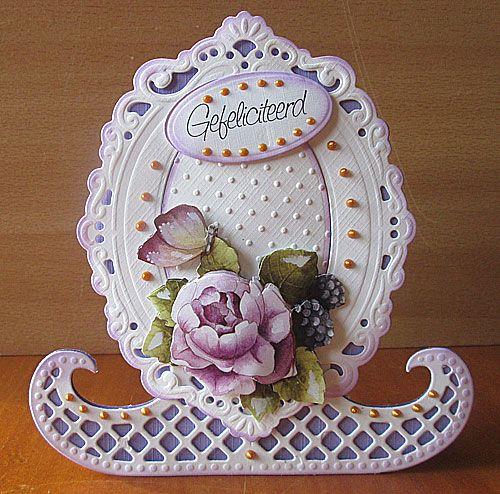 Januari 2014 - Marianne Creatables Design Die Handmade Card