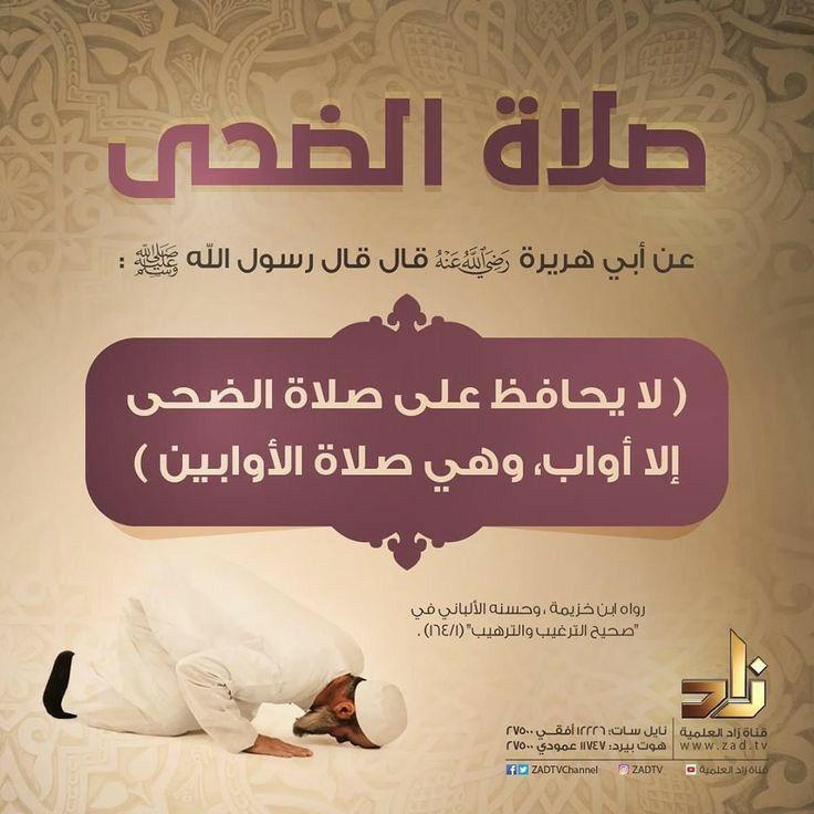 صلاة الضحي In 2020 Quran Quotes Words Quotes Islamic Teachings