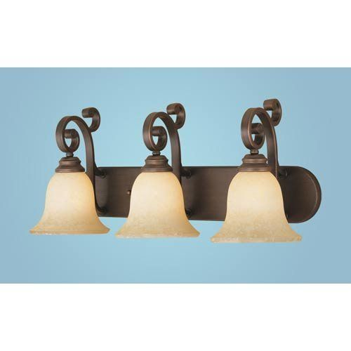 Millennium Lighting, 1243-RBZ 3 Light Bathroom Light, Rubbed by Millennium Lighting, Inc. $119.90. Finish:Rubbed Bronze, Light Bulb:(3)100w A19 Med F Incand Three-light bathroom & vanity fixture.  Turinian Scavo shades.. Save 15%!