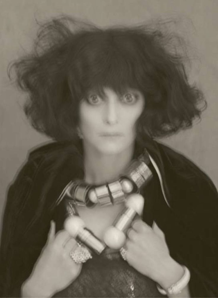 """Luisa Casati by Man Ray """"As the concept of dandy was expanded in the 20th century to include women, the marchesa Casati fitted the utmost female example by saying: """"I want to be a living work of art"""""""