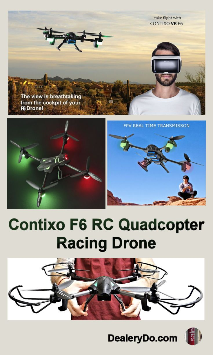 Contixo F6 RC Quadcopter Racing Drone - I have been very pleased with how well it takes photos, and it is pretty fast. If you are looking for a drone for yourself or for someone else, you can't go wrong with this one.