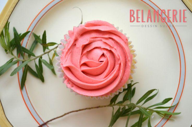 "Cupcake ""Rose"" by Belangerie"