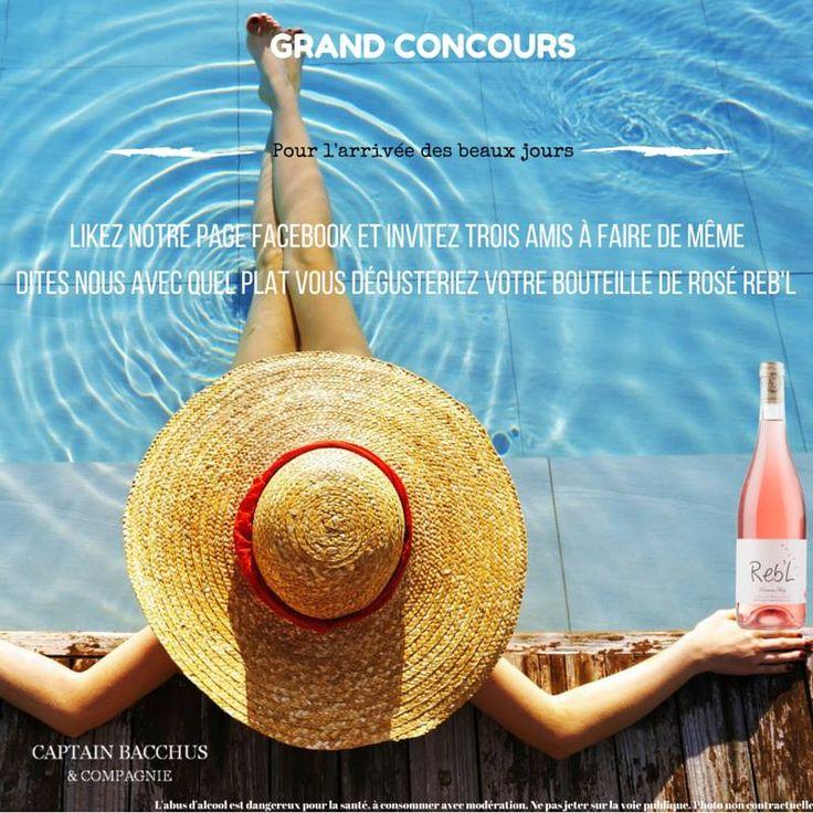 Grand Jeux Captain Bacchus Gagnez une bouteille du Domaine RETY