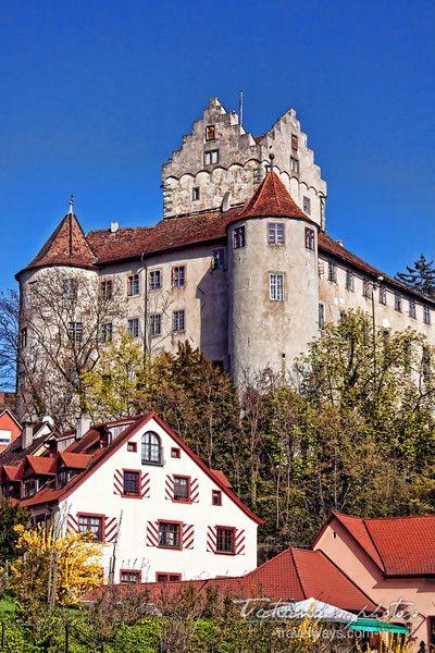 Medieval Castle - Meersburg on Lake Constance, Germany