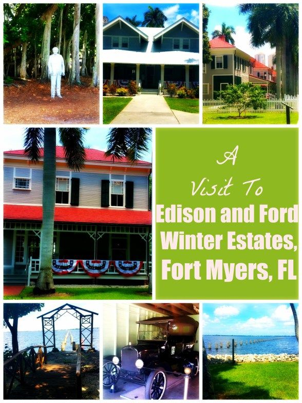 A Visit To Edison and Ford Winter Estates, Fort Myers, FL