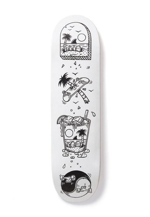 Skate decks by jamiebrowneart #skateboard #blackandwhite