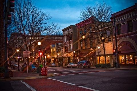 Elm Street, Downtown Greensboro, NC