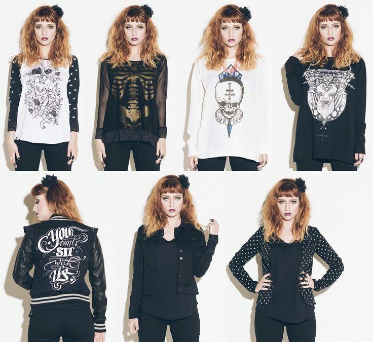 .Moda de Subculturas: Moda e Cultura Alternativa.: Stooge BlackHeart ♥ Coleção Feminina
